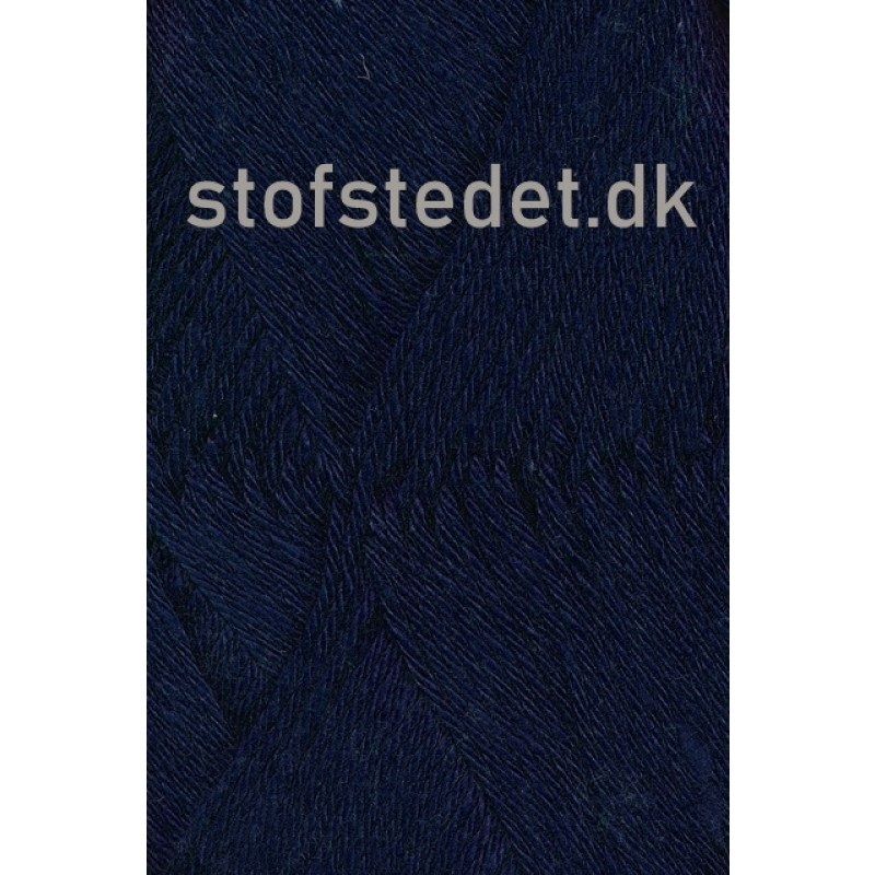 Blend -Tendens Bomuld/acryl garn i Mørke blå