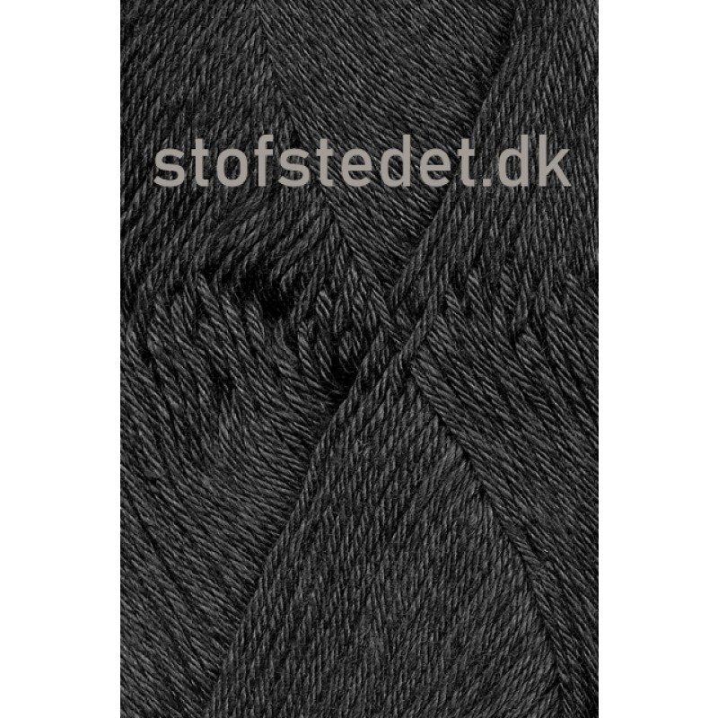Blend-Tendens Bomuld/akryl garn i Mørkegrå-32