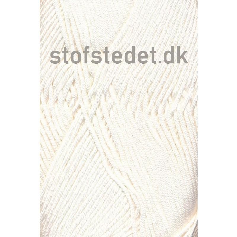Blend Bamboo-/bomuldsgarn i Off-white   Hjertegarn-32