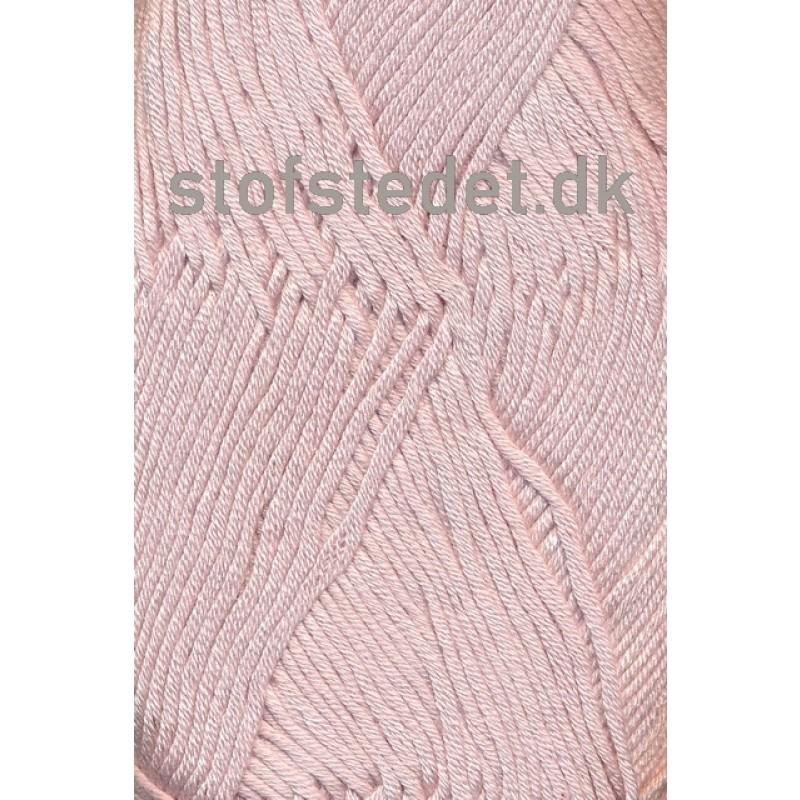 Blend Bamboo-/bomuldsgarn i Lys Pudder-rosa   Hjertegarn