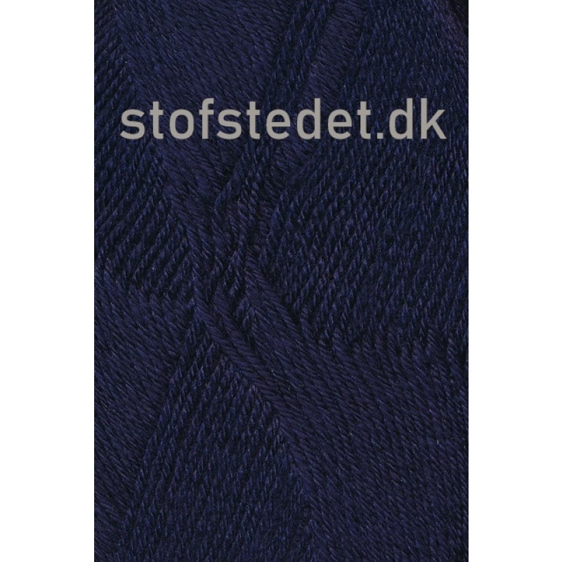 Bamboo Wool i mørkeblå | Hjertegarn-313