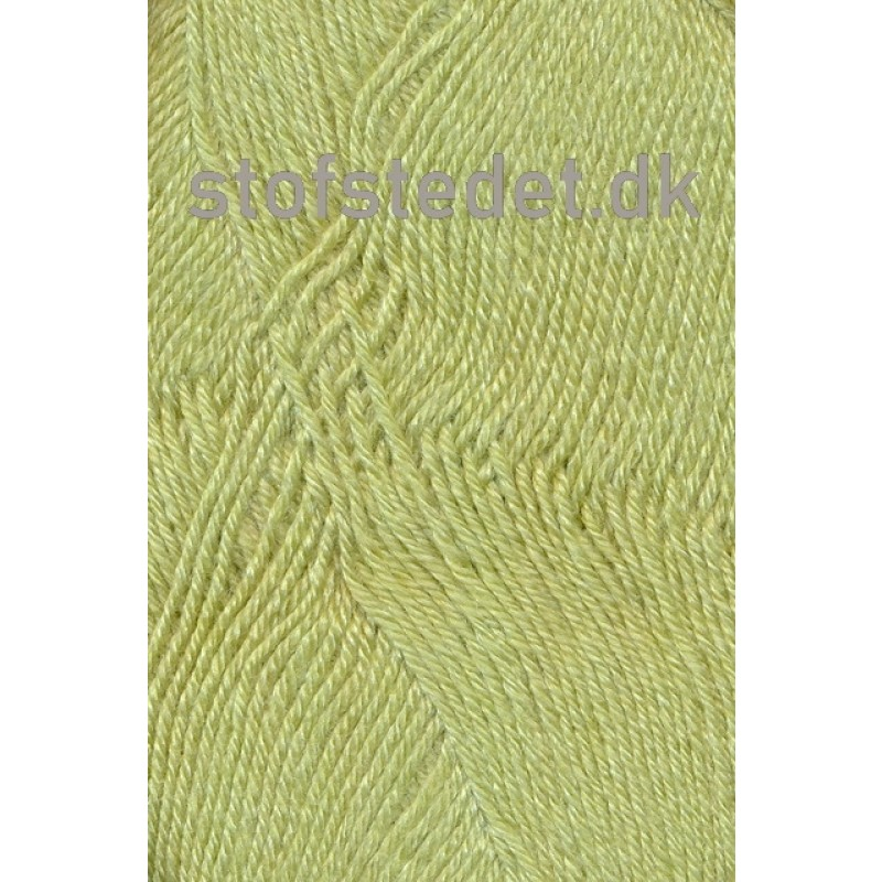 Bamboo Wool i lys lime | Hjertegarn
