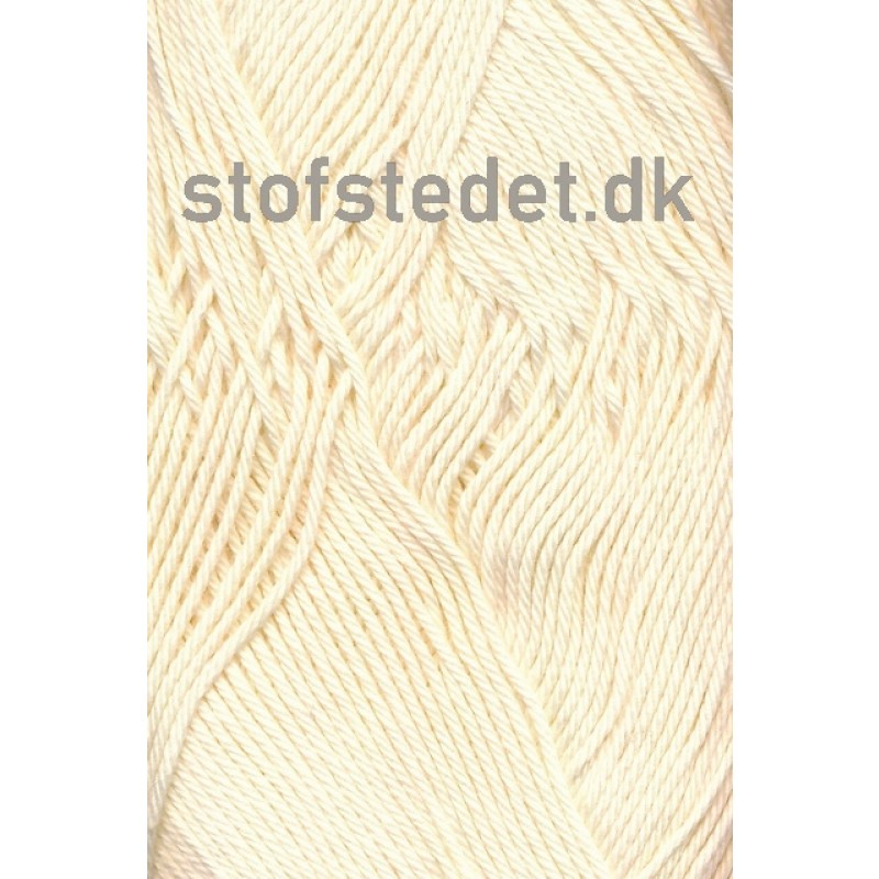 Cotton 8 Hjertegarn i Off-white