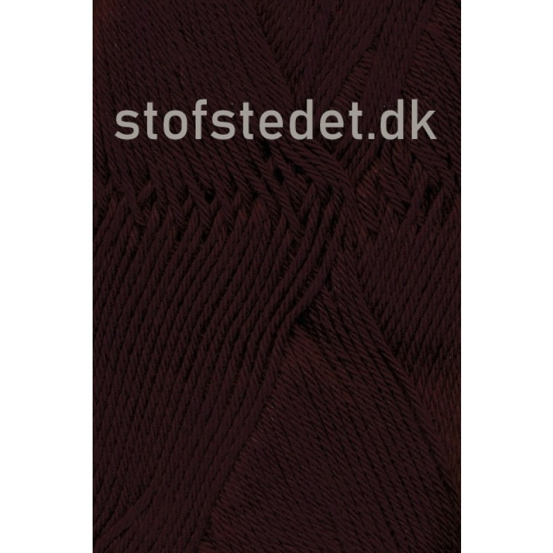 Cotton 8 Hjertegarn i Mørke brun-32
