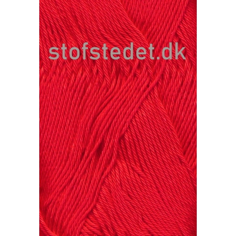 Cotton 8 Hjertegarn i Rød