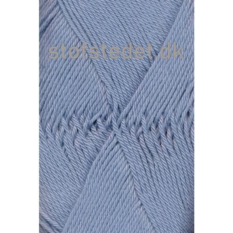 Cotton 8 Hjertegarn i Lys støvet blå
