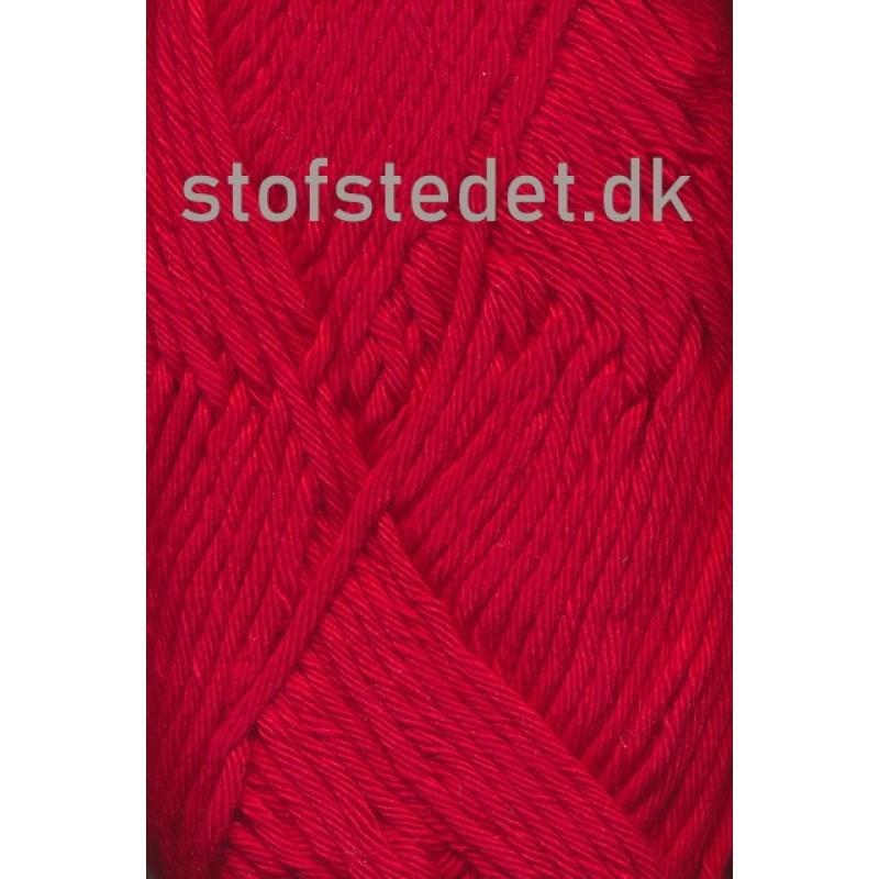 Cotton 8/8 Hjertegarn i Rød