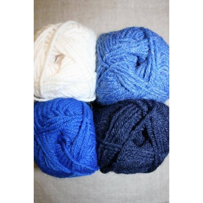 Deco off-white/kobolt blå/mørkeblå-31