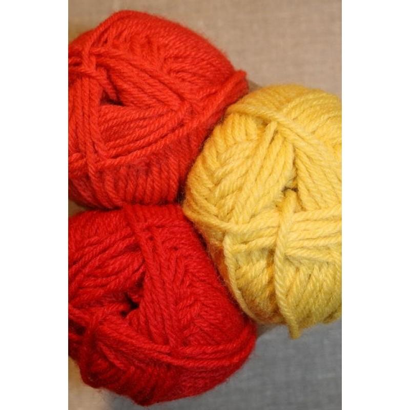 Deco orange/gul/rød-31
