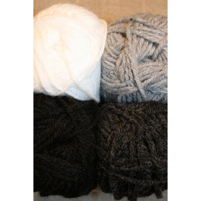 Deco hvid/grå/sort-31