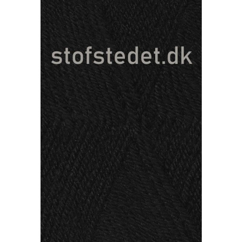 Deco acryl/uld i Sort | Hjertegarn