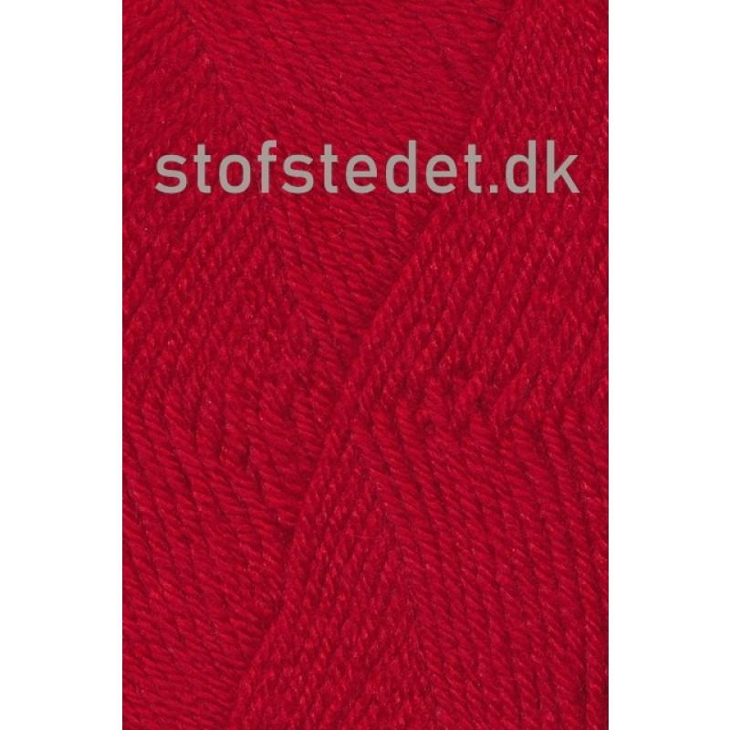Deco uld/acryl i Rød   Hjertegarn