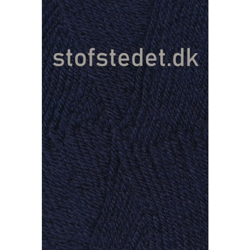 Deco uld/acryl i Mørke blå   Hjertegarn