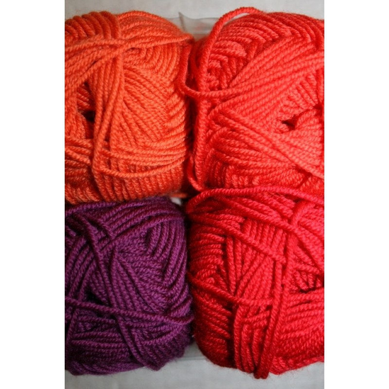 Extrafine Merino 150 rød/orange-32