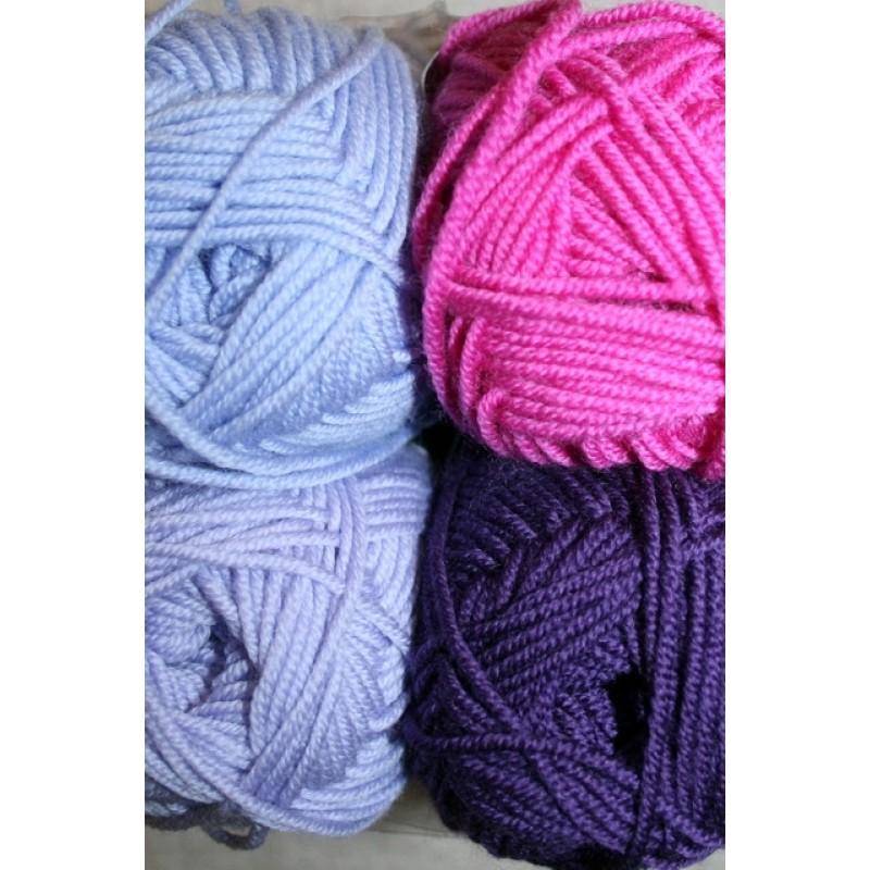 Extrafine Merino 150 lilla/pink-32