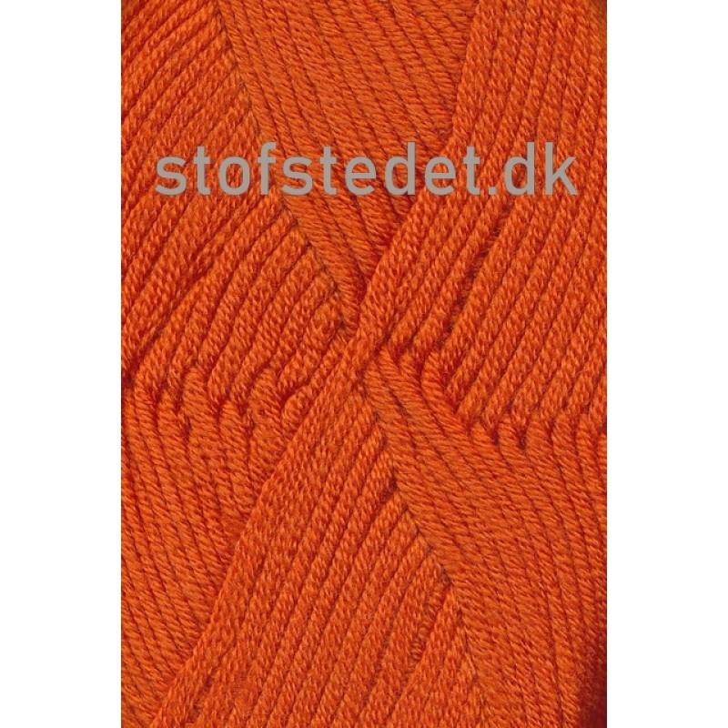 Extrafine Merino 90 i Orange | Hjertegarn