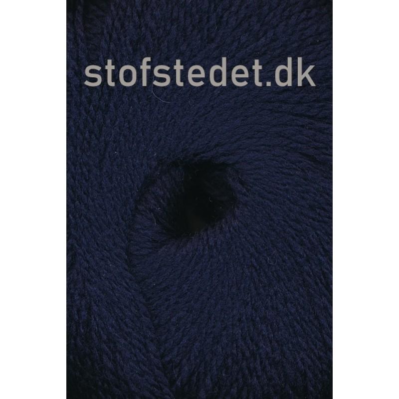 Hjerte Fine Highland Wool i Mørke blå   Hjertegarn