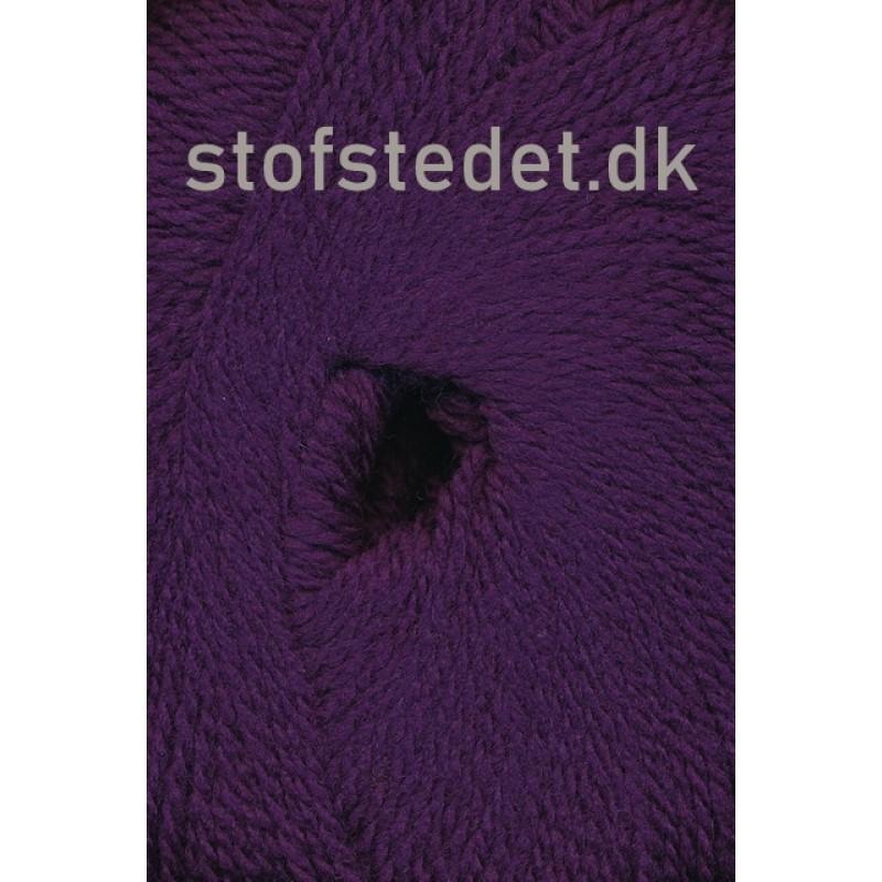 Hjerte Fine Highland Wool i Mørkelilla   Hjertegarn