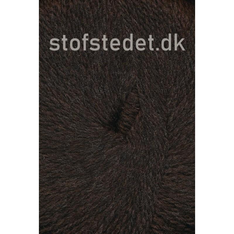 Hjerte Fine Highland Wool i Mørke brun   Hjertegarn
