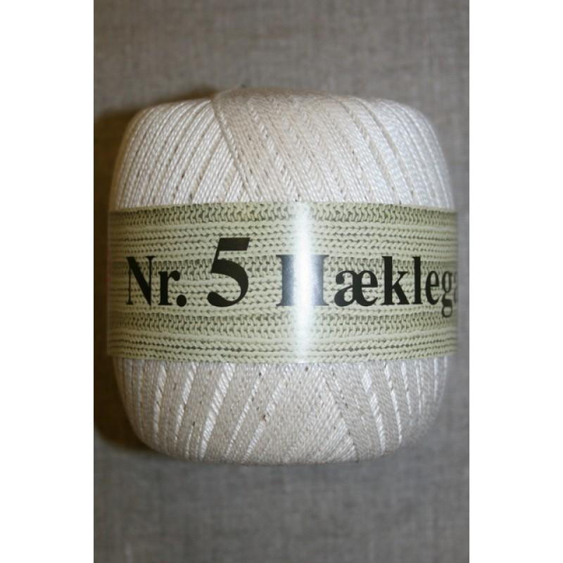 Nr. 5 Hæklegarn, off-white-35