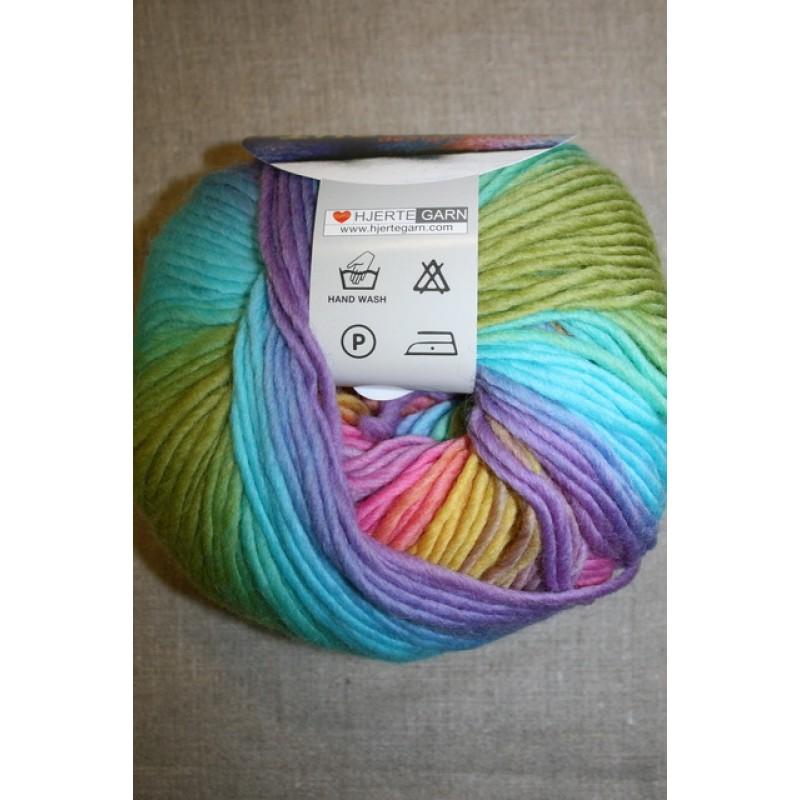 Incawool lys turkis/lime/lilla-06