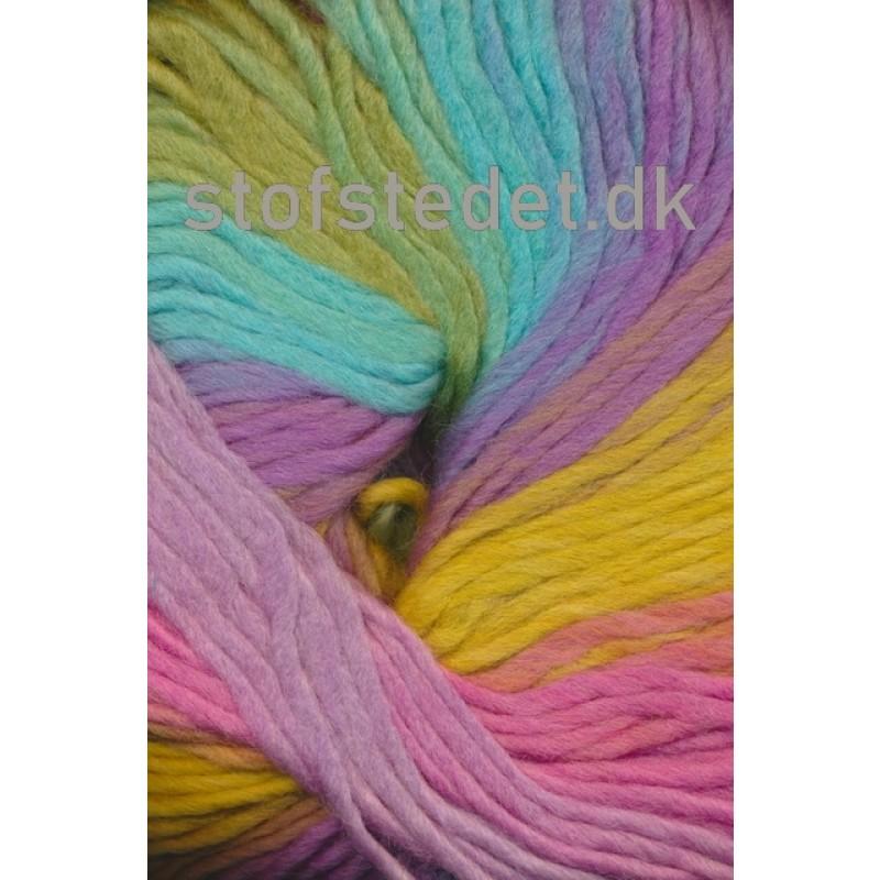 Incawool lys turkis/lime/lilla-36