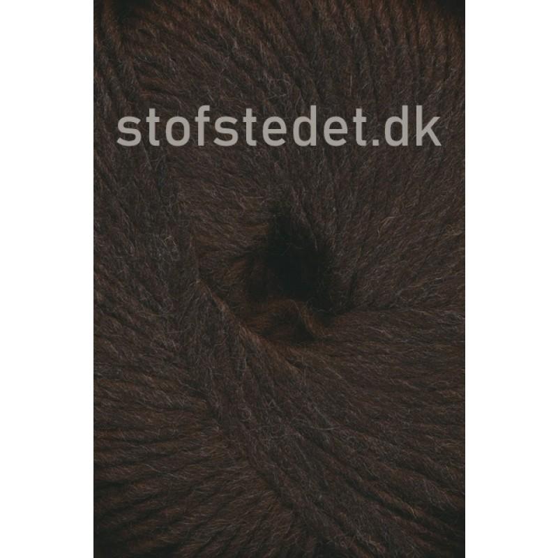 Incawool i 100% uld fra Hjertegarn i mørkebrun-329