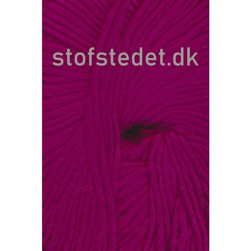 Incawool i 100% uld fra Hjertegarn i mørk pink/cerisse-321