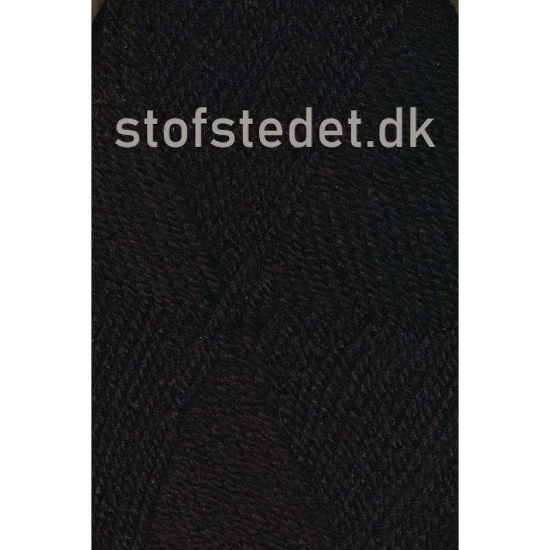 Jette acryl garn i Sort   Hjertegarn-32