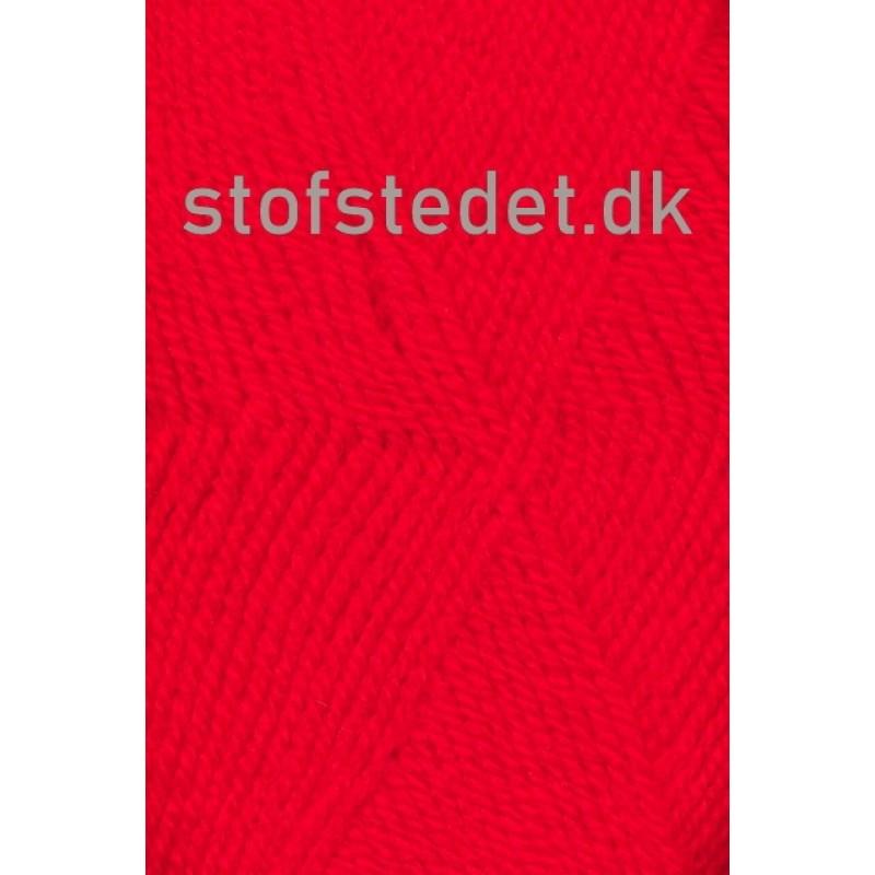 Jette acryl garn i Rød | Hjertegarn