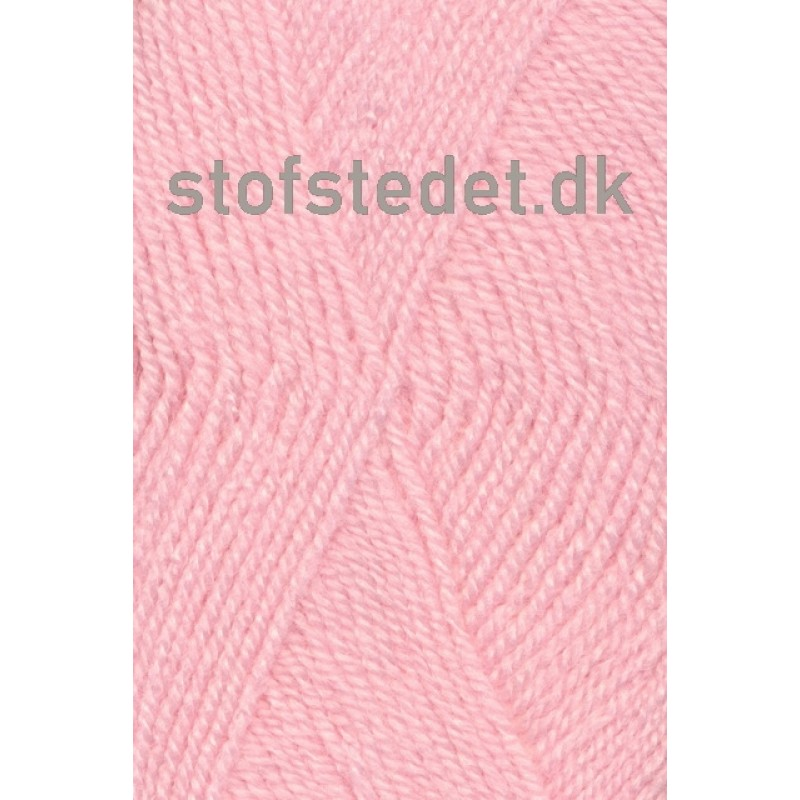 Jette acryl garn i Lyserød | Hjertegarn