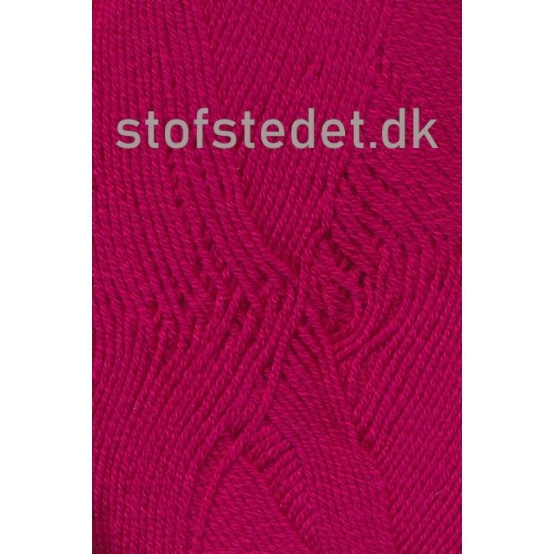 Lana Cotton 212- Uld-bomuld i Mørk pink