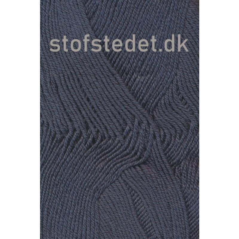 Lana Cotton 212- Uld-bomuld i Mørk grå-blå