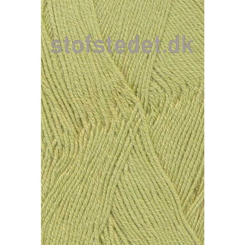 Lana Cotton 212- Uld-bomuld i Lys gul-grøn