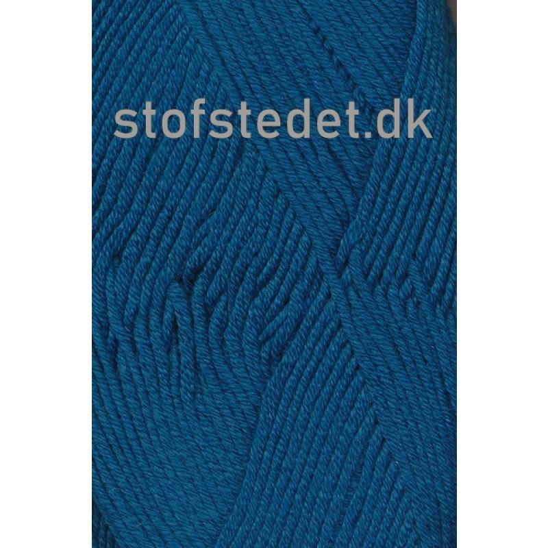 Hjertegarn   Merino Cotton i Petrol/blå