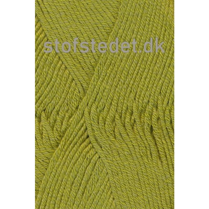 Merino Cotton - Uld/bomuld i Lime