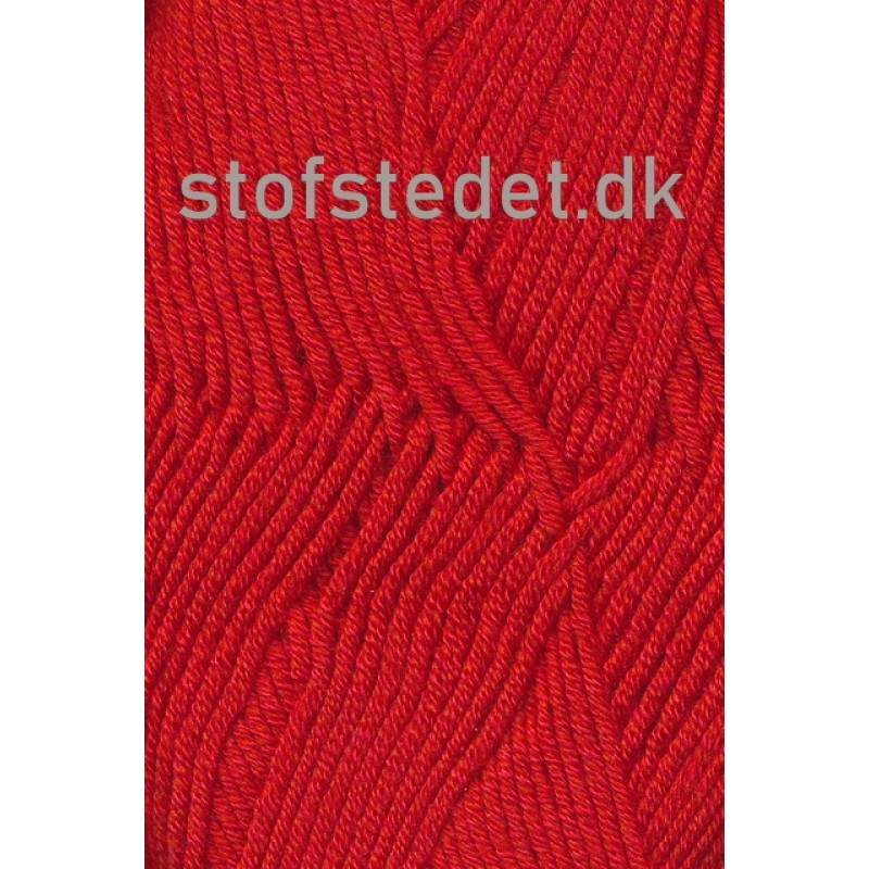 Hjertegarn   Merino Cotton Uld/bomuld i Rød-33