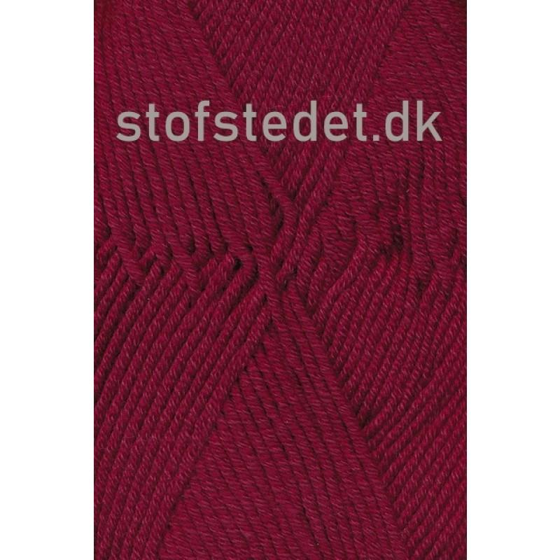 Merino Cotton Uld/bomuld i Bordeaux-34