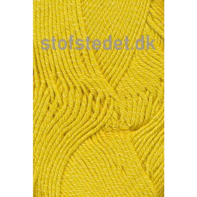 Hjertegarn   Merino Cotton - Uld/bomuld i Støvet gul