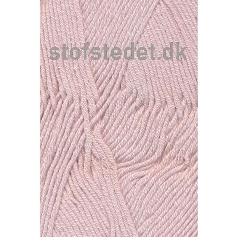 Merino Cotton - Uld/bomuld i Lys Pudder-rosa