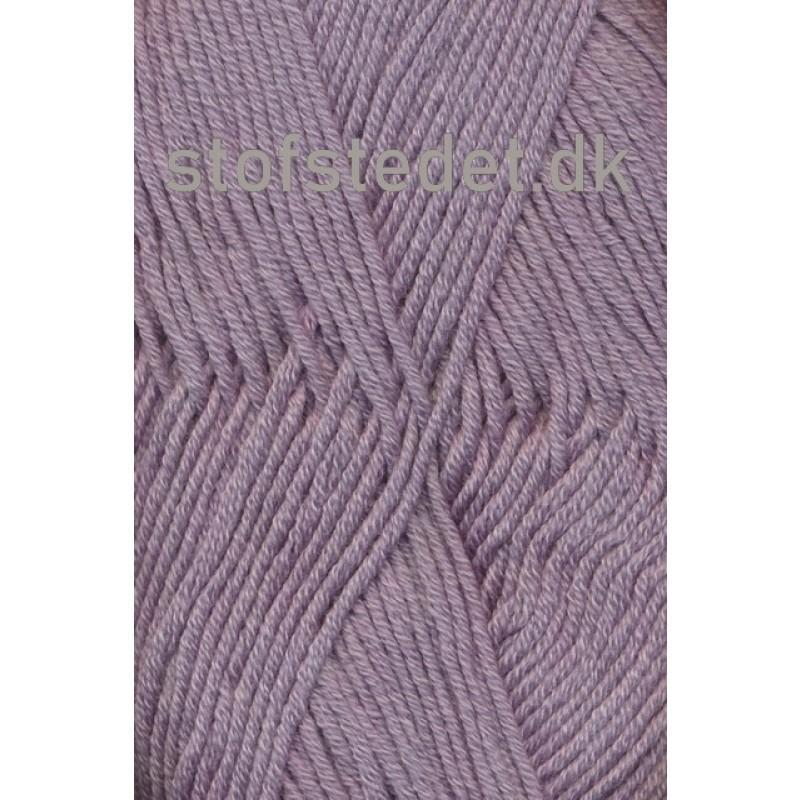 Hjertegarn   Merino Cotton grå-lyng fv.3906-32