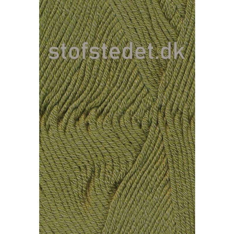 Merino Cotton - Uld/bomuld i Oliven