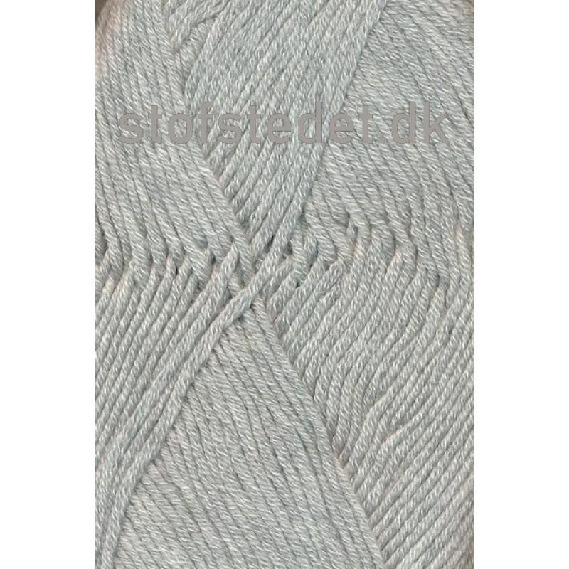 Hjertegarn | Merino Cotton Uld/bomuld i Lysegrå-34