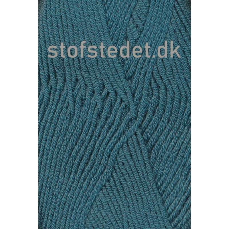 Hjertegarn | Merino Cotton Uld/bomuld i Petrol/grøn-33