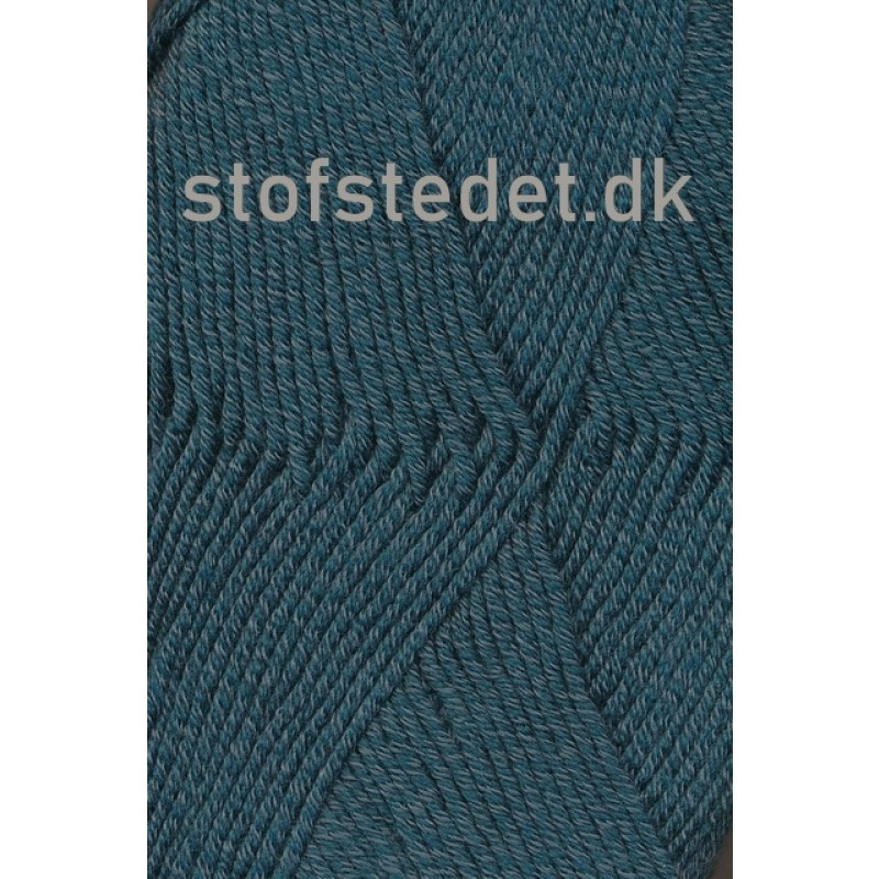 Hjertegarn | Merino Cotton Uld/bomuld i Mørk petrol-grøn-33