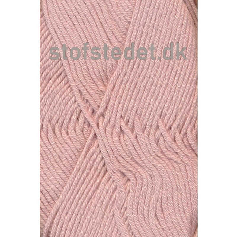 Merino Cotton - Uld/bomuld i Lys rosa