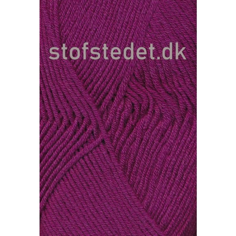 Merino Cotton Uld/bomuld i mørk cerisse-34
