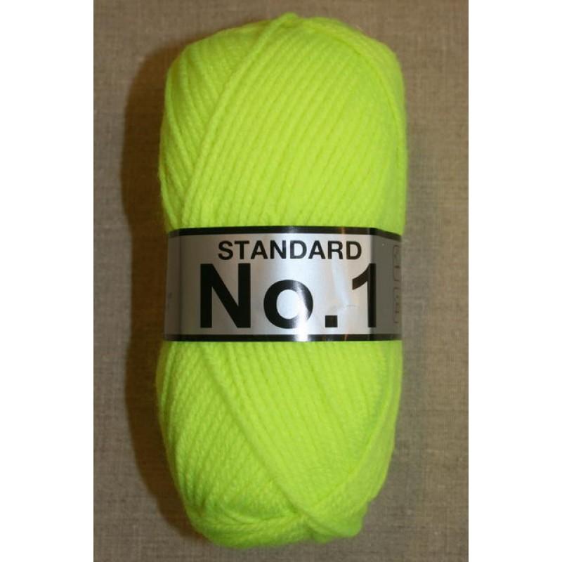 Acrylgarn No 1, neon gul-31