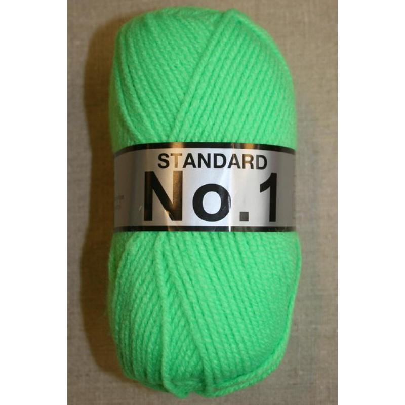 Acrylgarn No 1, neon grøn-31