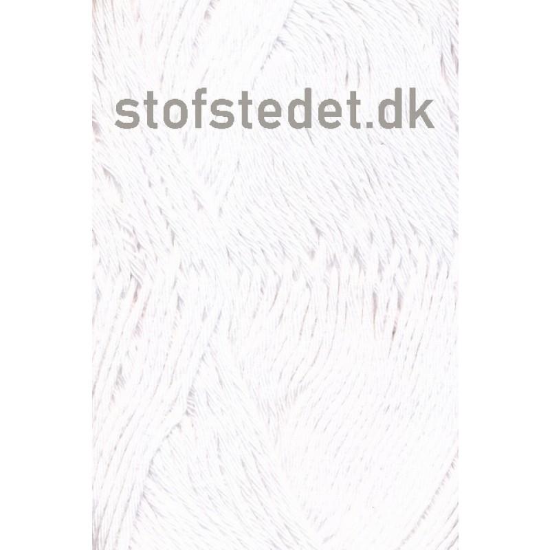 Organic Cotton/Økologisk bomuldsgarn i Hvid
